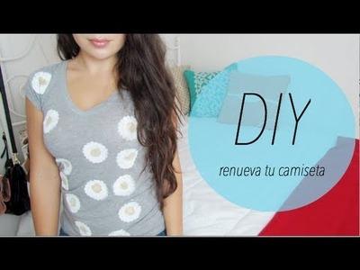 DIY: Camiseta con diseños