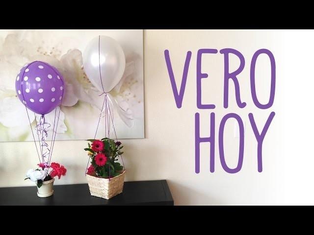 DIY Globo de Aire con Flores para Mama!