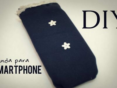 DIY - Haz una Funda para tu Celular.Smartphone  @yanibrilz #mArtesanias