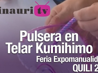 DIY - Kumihimo Pulsera ( How-to do Bracelet )