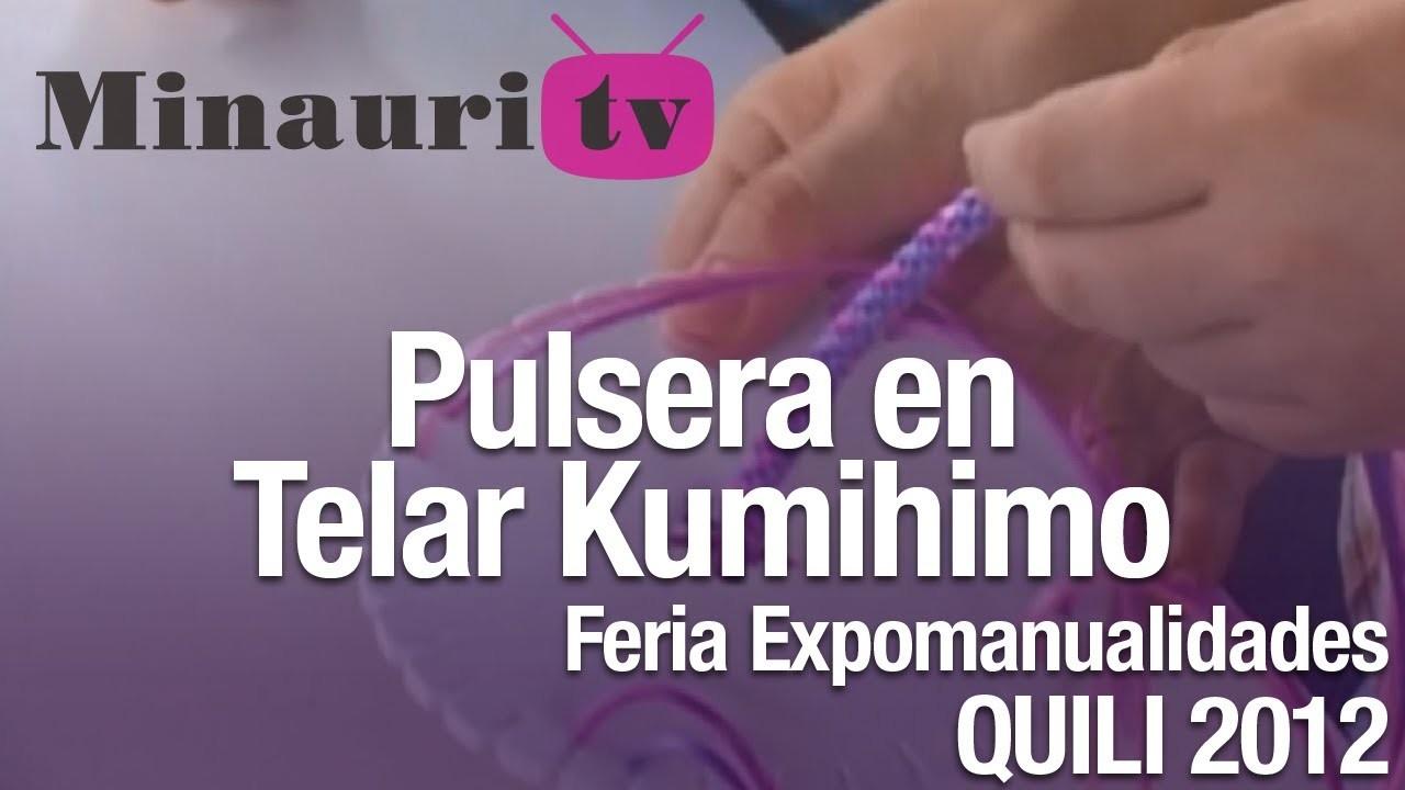 DIY - Kumihimo Pulsera ( How-to do Bracelet )