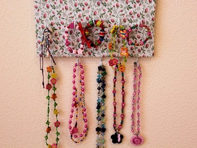 DIY: Organizador de collares, pulseras y anillos