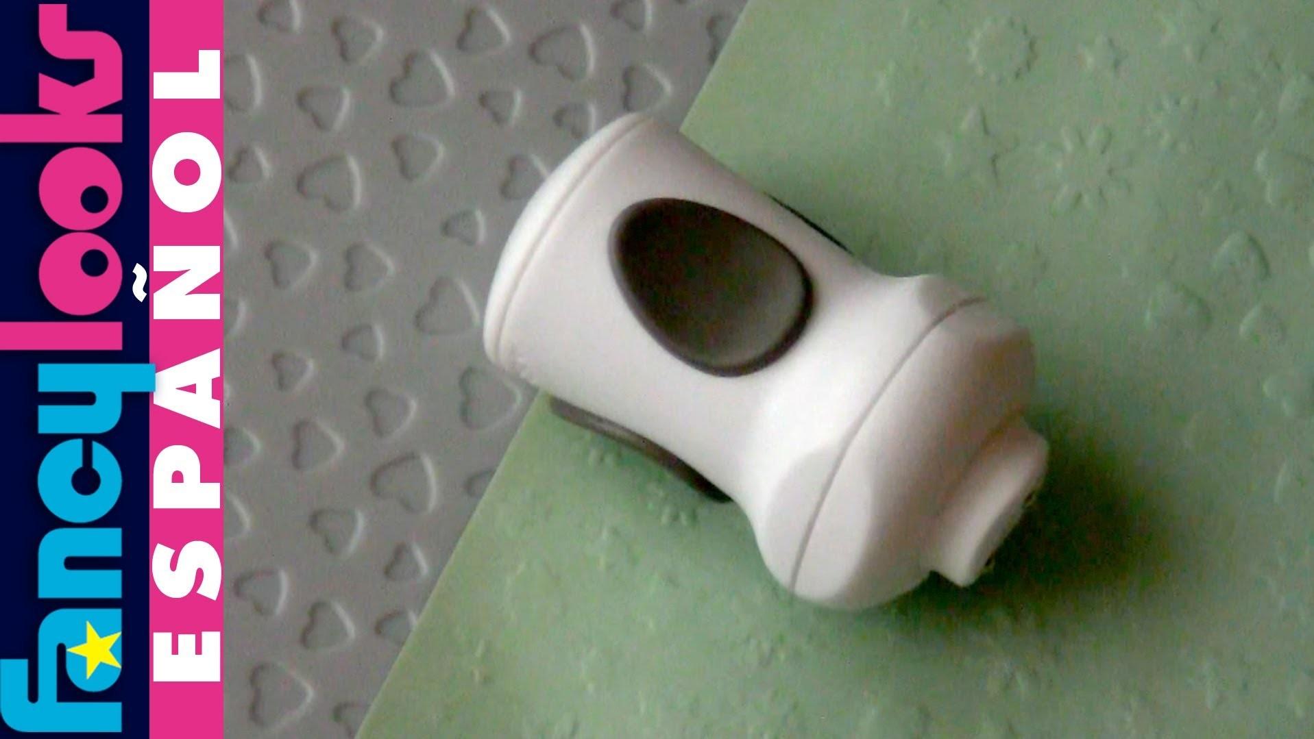 Herramienta baratita para estampar relieves en papel ¿funciona?