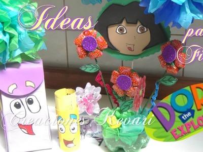 Ideas para fiesta de Dora la Exploradora.Party Ideas Dora the Explorer