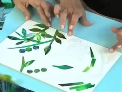 Imitación Vidrios y Gemas con Laca Vitral - Lidia Gonzalez Varela en Manos a la Obra (Parte II)