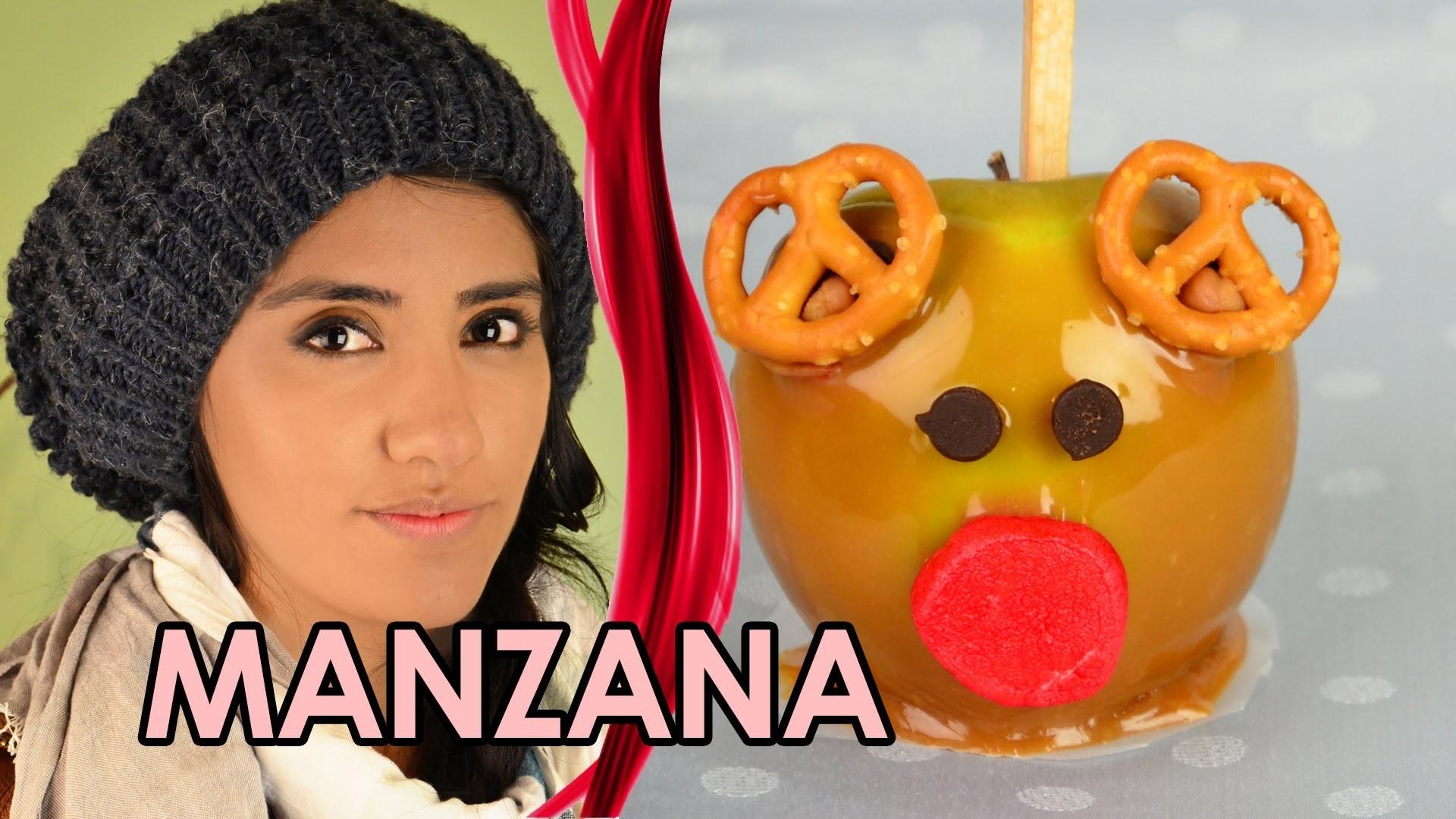 MANZANAS DE CARAMELO NAVIDEÑAS | COMO HACER MANZANAS DE CARAMELO | MUSAS