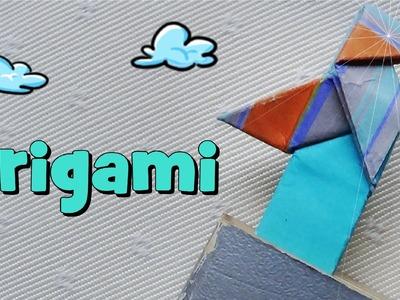 Marcapáginas con una Pajarita - Origami