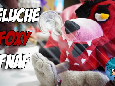 PELUCHE FOXY FNAF| FIVE NIGHTS AT FREDDY'S  MUY FÁCIL | Eddo