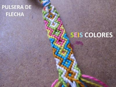 Pulsera De Flecha ~SEIS COLORES~