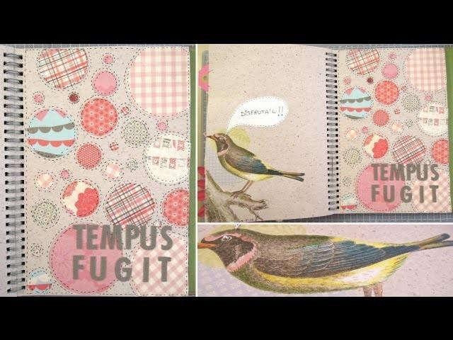 Smash Book Terapia: 13.05.13 *Cómo hacer un diario de Scrap* Smash book tutorial