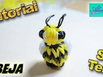 ♥ Tutorial: Abeja en 3D de gomitas (sin telar) ♥