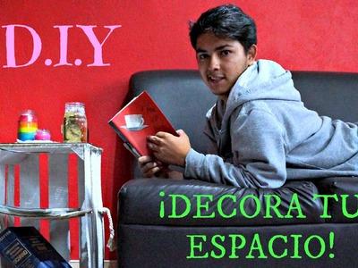 #17 RECICLA Y DECORA TU ESPACIO | D.I.Y ♥