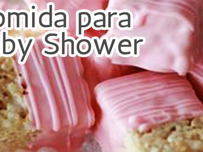 40 Súper ideas Comida para un Baby shower HD