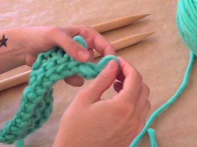 Aprender a tejer: ¿Cómo cerrar los puntos?