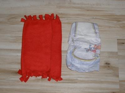 Bolso porta pañales sin coser, neceser para bebes, cartera pañalera. DIY, carrying diapers.