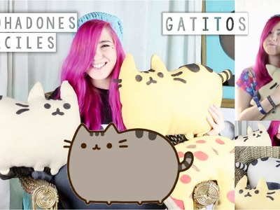 ¡HAZ TUS PUSHEEN CAT ALMOHADONES! ✩ DIY facil - Ann Look