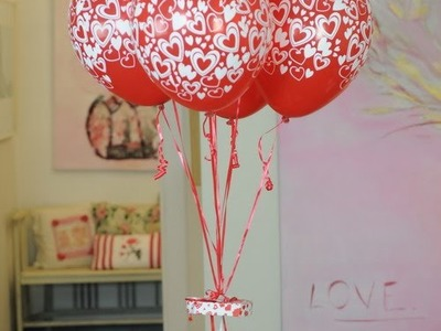 Como hacer centros de mesa con globos - Maricel Merigo