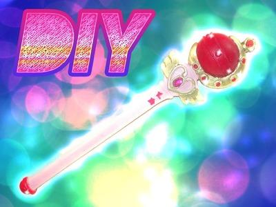 Como hacer Cutie Moon Rod Segundo baculo de Sailor Moon