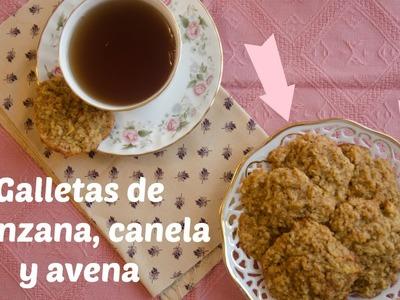 Cómo hacer galletas de manzana, canela y avena, receta sencilla ♥ Bocados Divinos