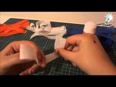 Cómo hacer guirnaldas dieciocheras - Forma 3