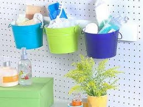 Como hacer muebles de ba o con material reciclado ideas for Ideas originales para decorar tu casa