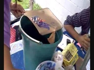Como hacer papel reciclado tutorial