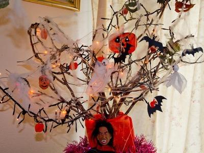Como hacer un Arbol de Halloween