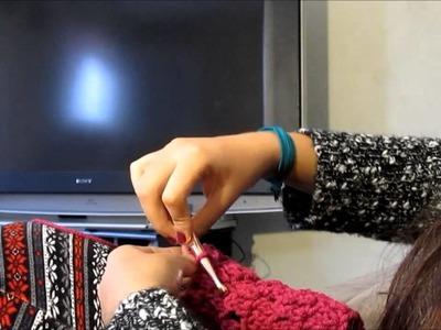 Como hacer un chaleco para perrito.gatito tejido en gancho