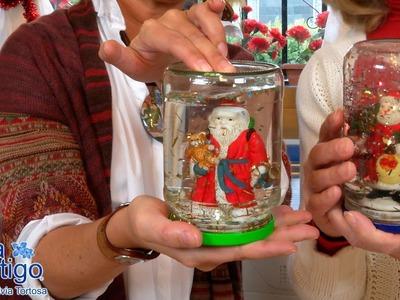 Como Hacer un Globo o Bola de Cristal para Navidad