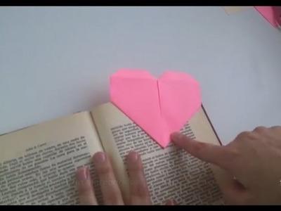Cómo hacer un marcapáginas con forma de corazón | facilisimo.com
