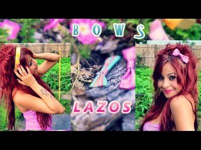 ☆♥COMO HAGO MIS LAZOS♥☆