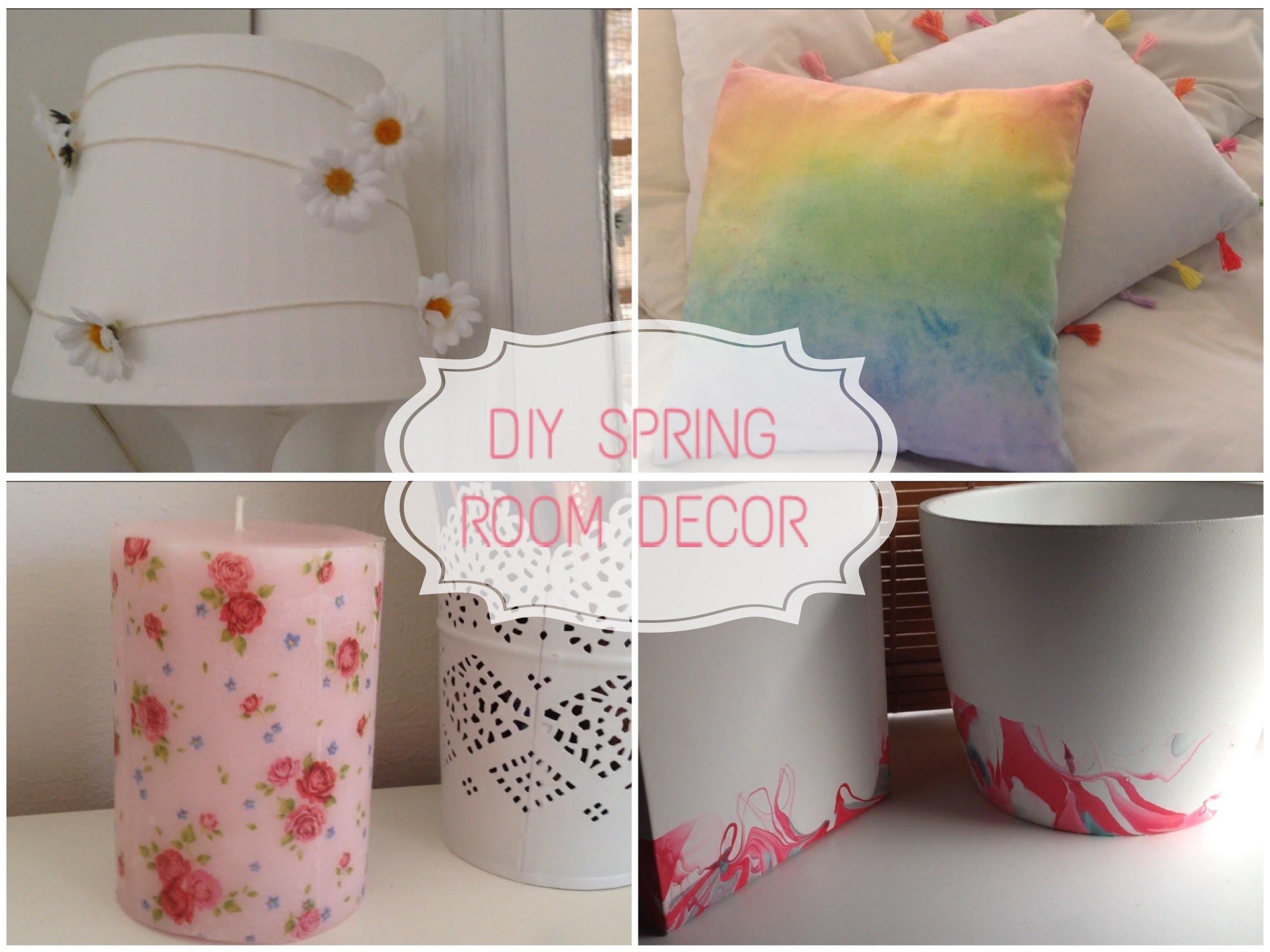DIY: Decora tu cuarto. Spring Room Decor