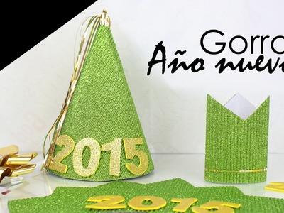 DIY: Gorros Año Nuevo