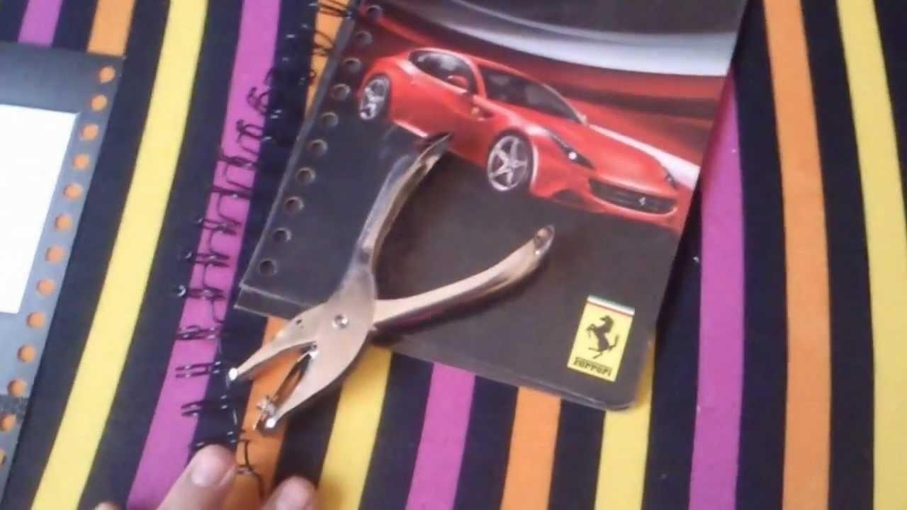 DIY: Haz tu agenda personalizada apartir de una libreta (1 PARTE)