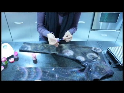 DIY LEGGINGS DE NEBULOSA - GALAXY LEGGINGS