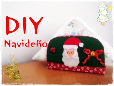 DIY Navideño.Porta servilletas