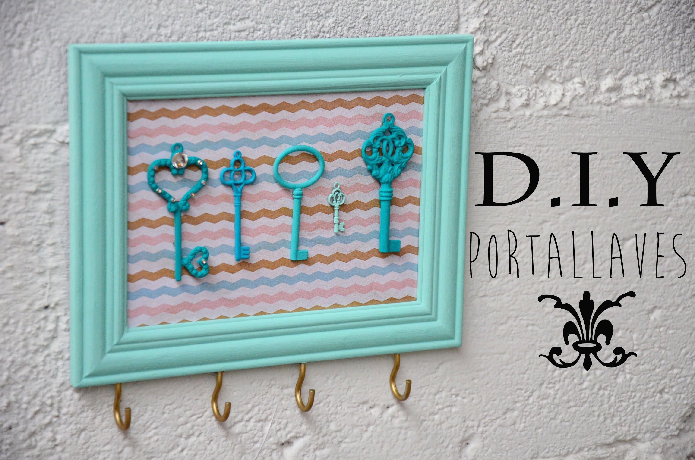 D.I.Y. Portallaves.Key Holder