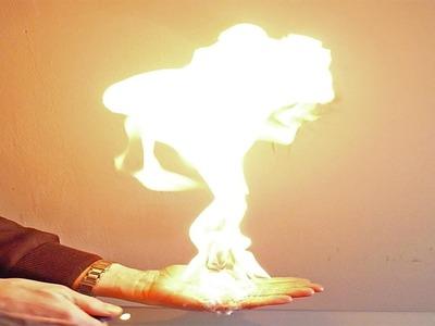 Espuma de Fuego. Burbujas de Fuego. Fire Bubbles