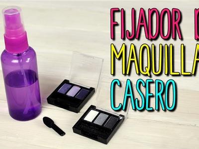 Fijador de Maquillaje Casero - Natural con Agua MIneral - Fix Plus DIY