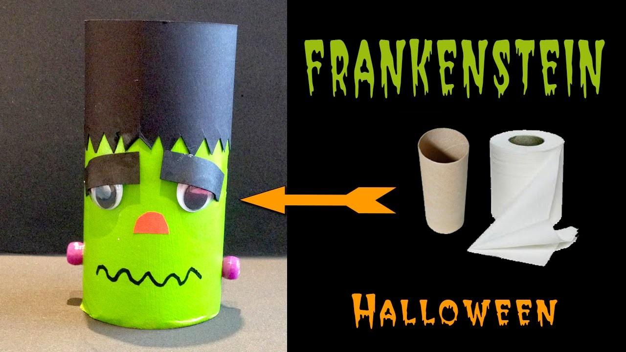 Frankenstein: Manualidades para halloween
