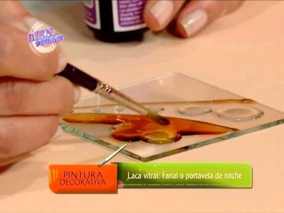 Lacas Vitrales sobre Vidrio - Rosana Ovejero en Bienvenidas Tv