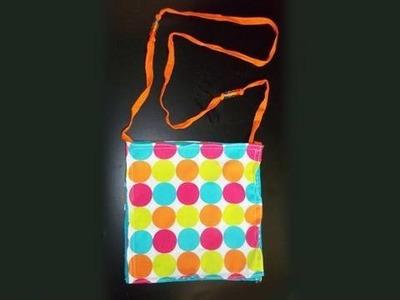 Manualidades de tela: bolso para su princesa