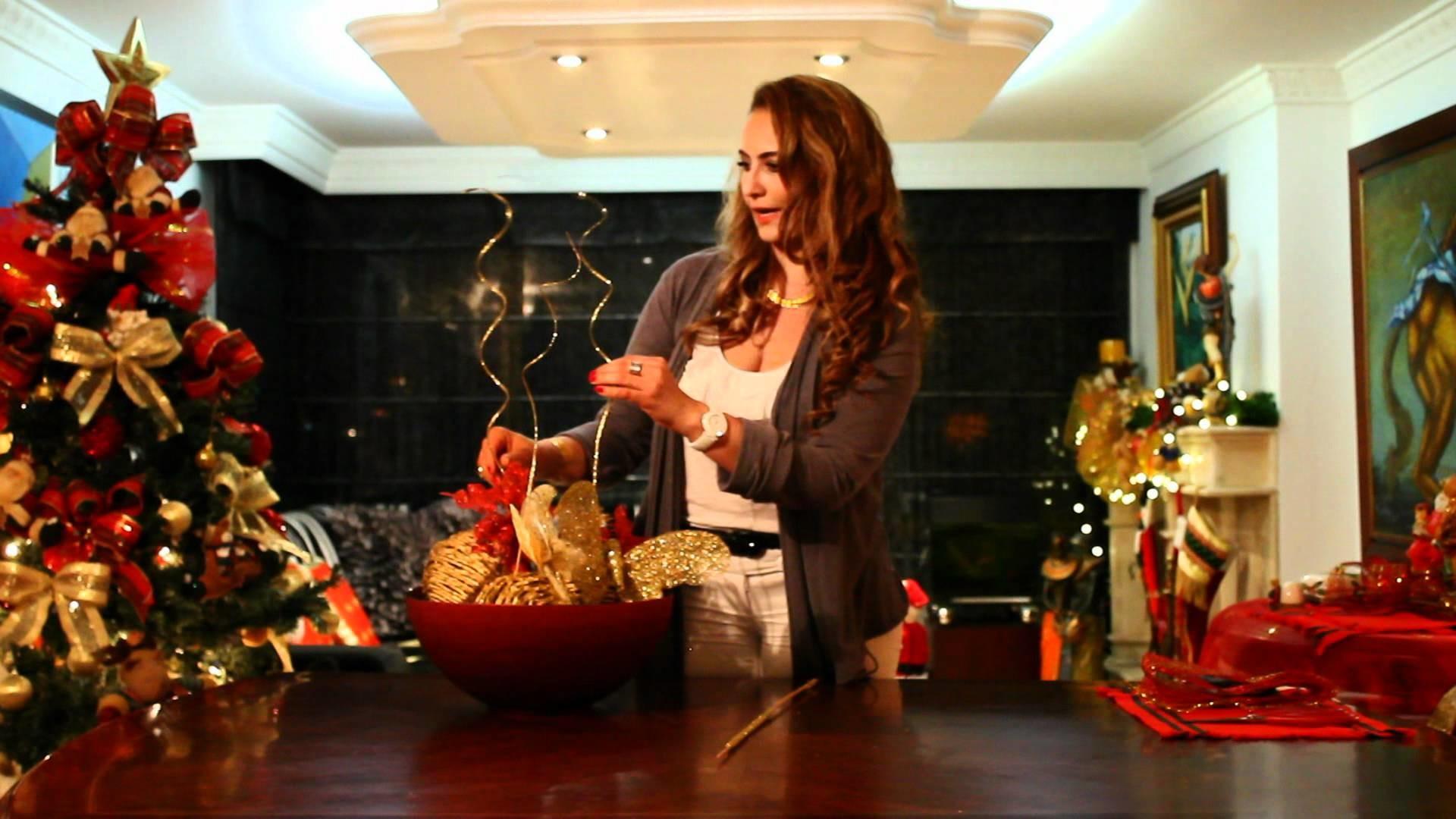 Marcela Estrada TV -  Decora la mesa para Navidad