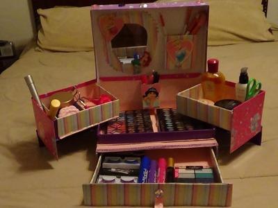 "Organizador de cosméticos:""princesas"" (petición)"