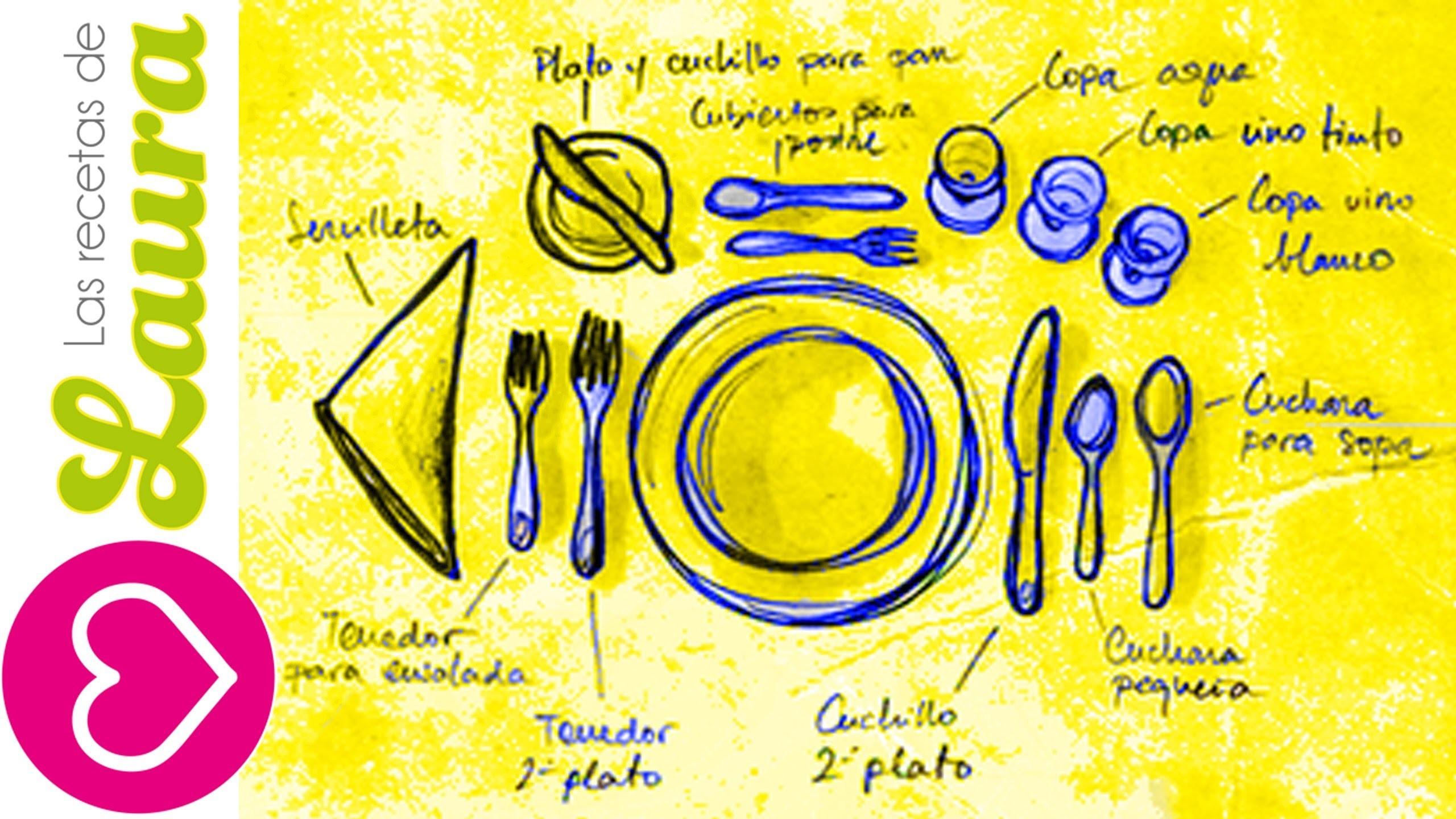 ¿Para qué sirve cada cubierto en la mesa? con Alejandra Coghlan