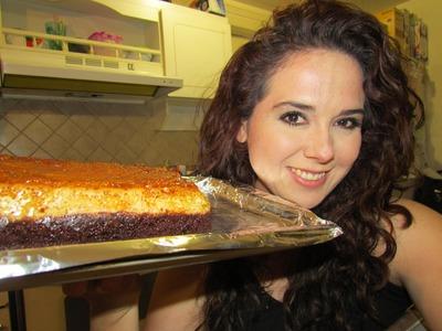 Pastel imposible en estufa y horno