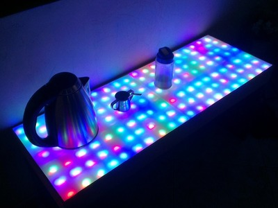 ProyectosLed #41: mesa led rgb, parte 3