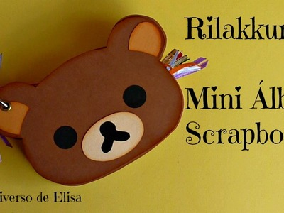 Rilakkuma Mini Álbum, Kawaii Scrapbooking Album Tutorial, Kawaii Crafts, Cute Scrapbook Ideas