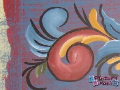 *Rosemaling How To* Pintura en Madera - Pintura Facil Para Ti