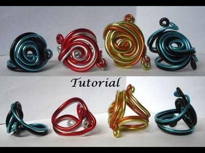 Tutorial Anillo de Aluminio con Espiral